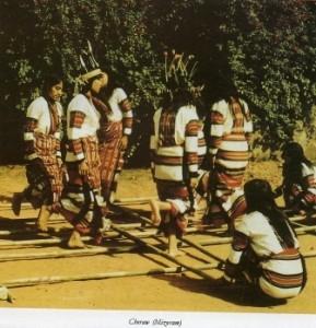 Cheraw Dance Mizoram