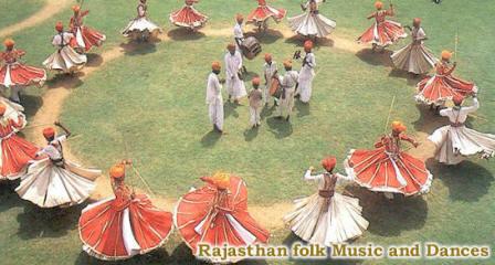 Dandia Gair Dance Rajasthan