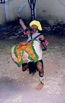 Dollu Kunita Dance Karnataka