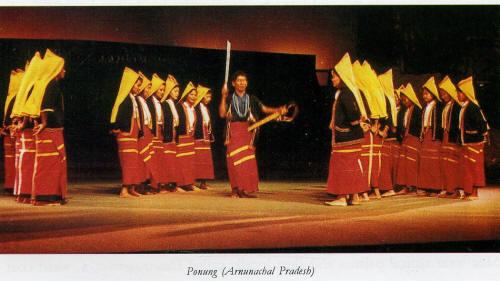 Ponung Dance Arunachal Pradesh