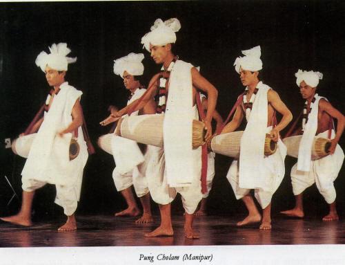 Pung Cholam Dance Manipur