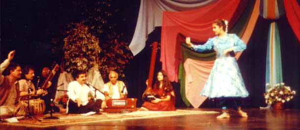 Typical Kathak Performance